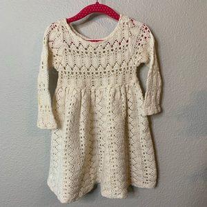 Angelina's Collection Girl's Crochet Dress